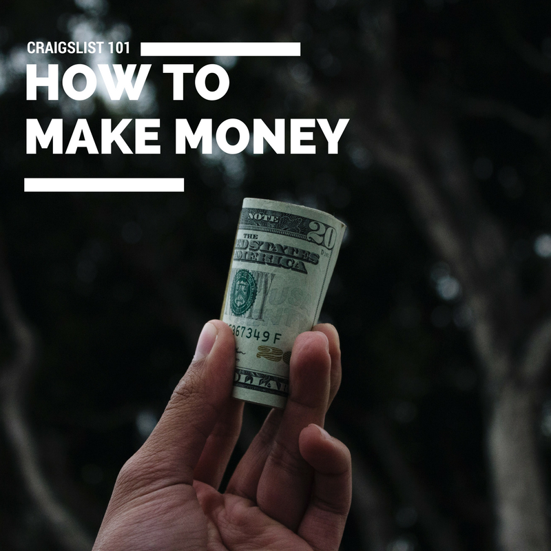 How To Make A Million Dollars A Year On Craigslist