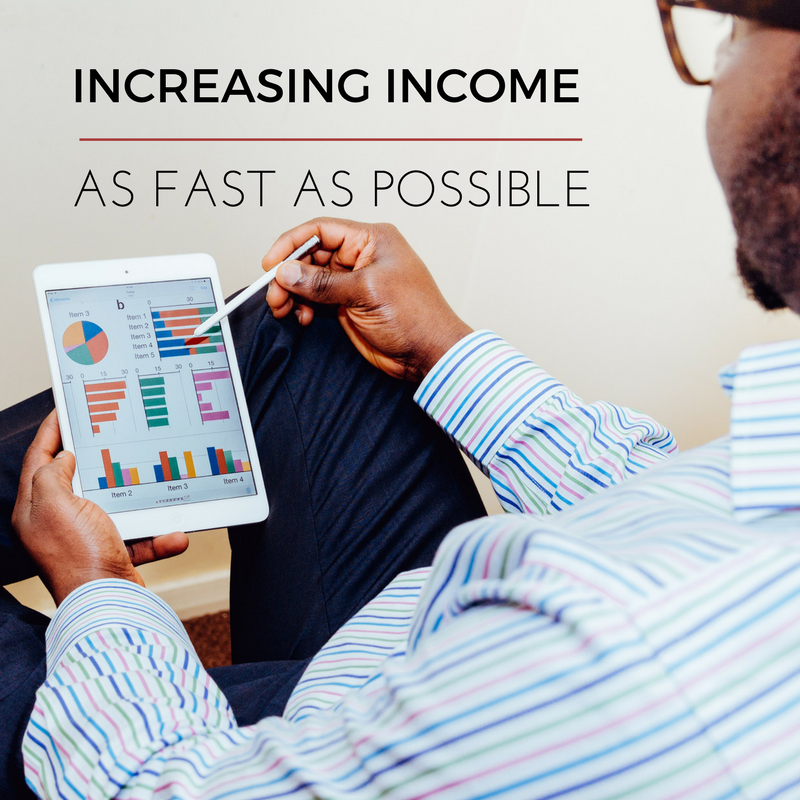 Money Monday – How To Increase Your Income As Fast As Possible