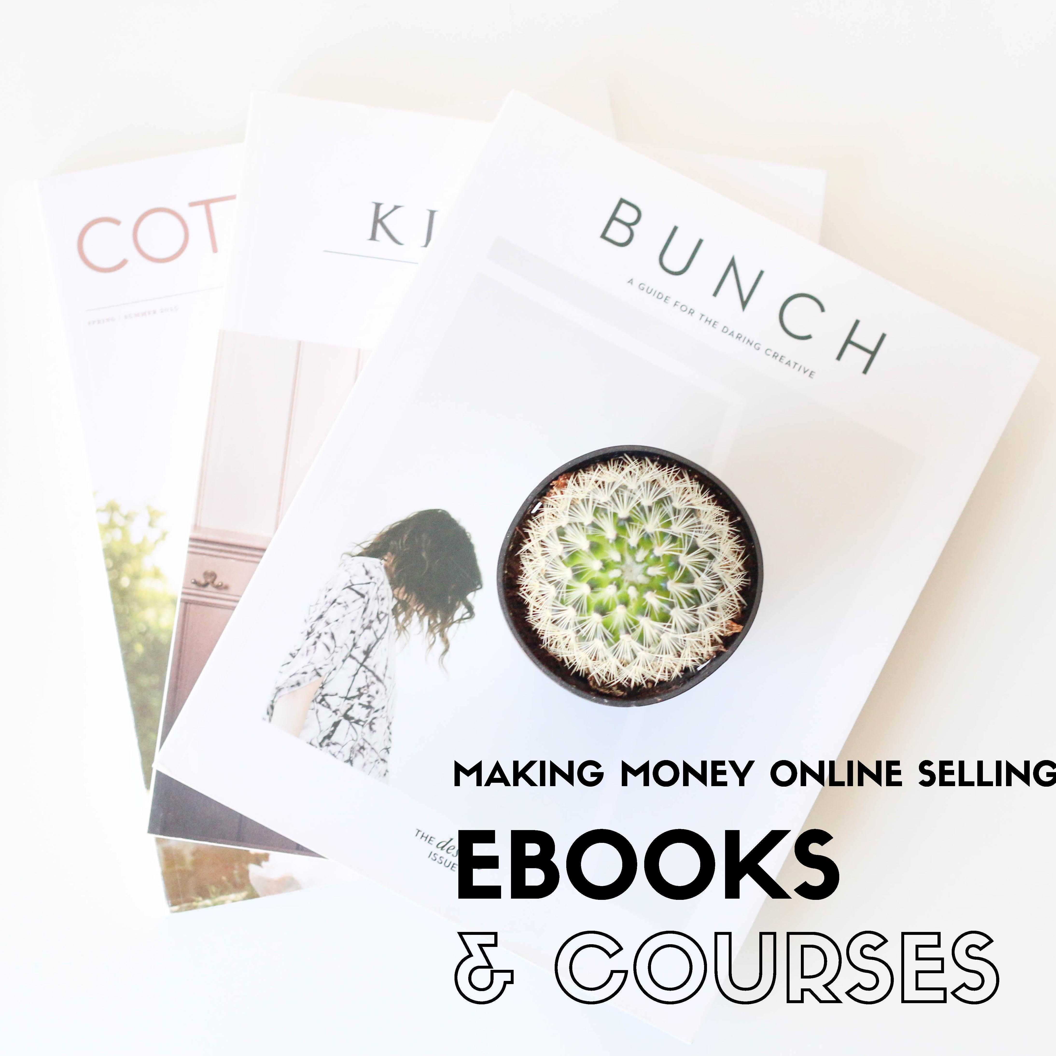 How To Make Money Online Selling Books And Courses In 2017