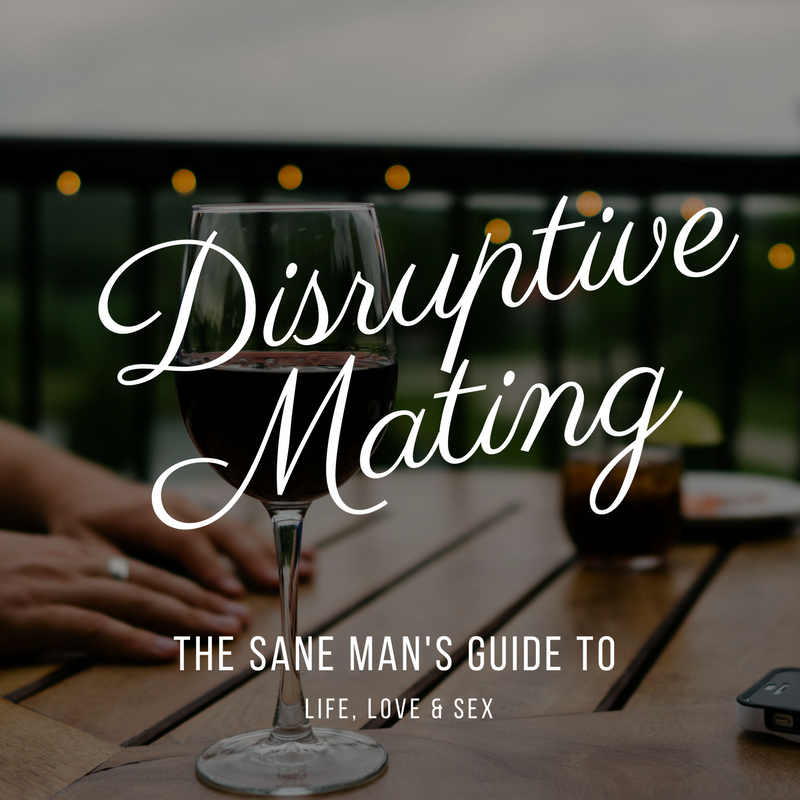 DISRUPTIVE MATING THE SANE MAN'S GUIDE TO LIFE, LOVE AND SEX HUSTLERS KUNG FU ONLINE COURSE ENROLL NOW
