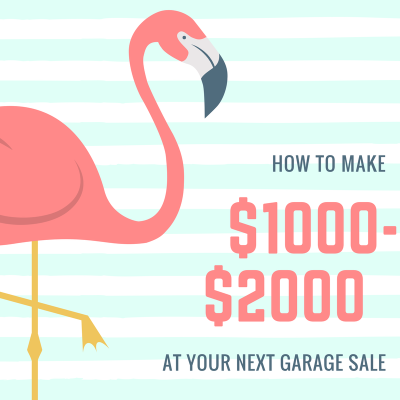 How To Make $1000-$2000 Dollars At Your Next Garage Sale HUSTLERS KUNG FU ONLINE COURSE ENROLL NOW