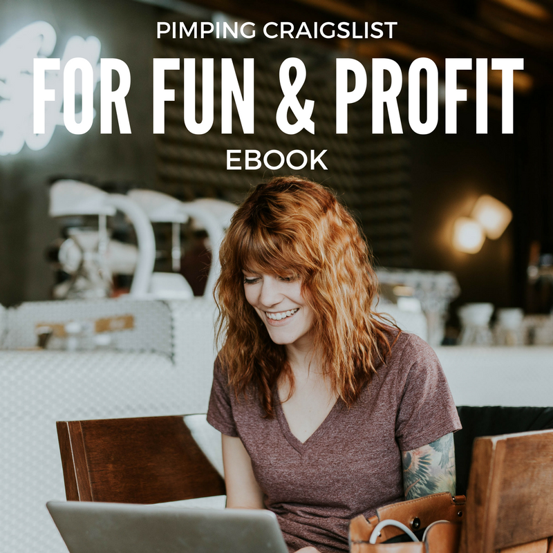 PIMPING CRAIGSLIST FOR FUN AND PROFIT EBOOK HUSTLERS KUNG FU ONLINE COURSE ENROLL NOW