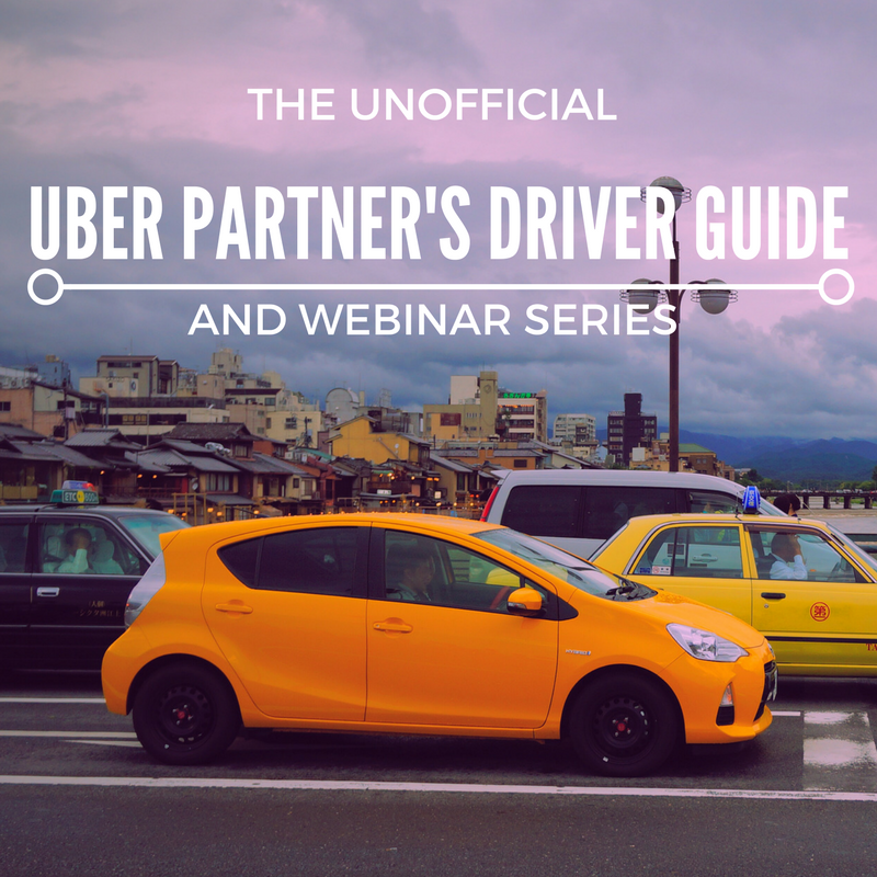 The Unofficial Uber Partner's Drivers Guide And Webinar Series HUSTLERS KUNG FU ONLINE COURSE ENROLL NOW