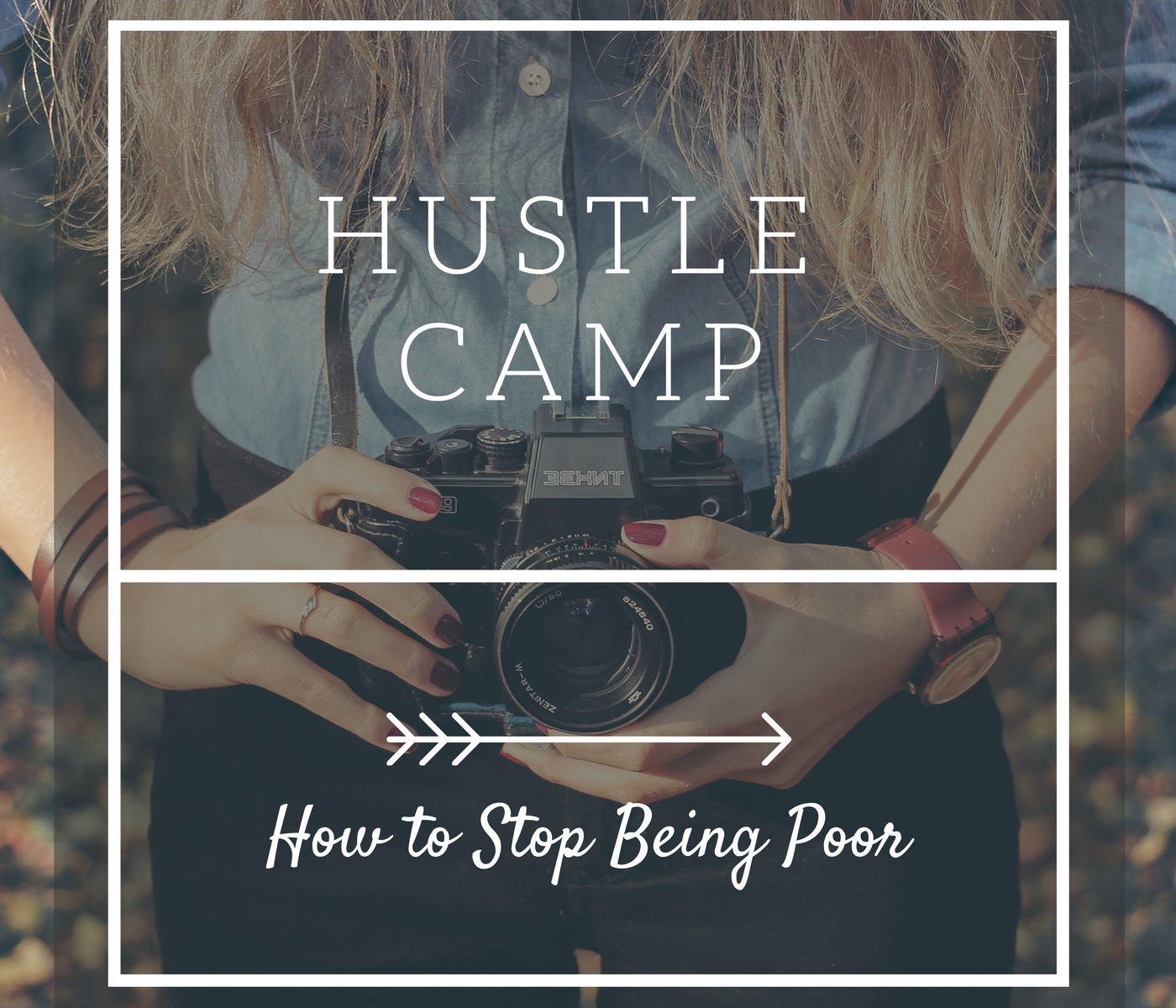 Hustle Camp - How to Stop Being Poor