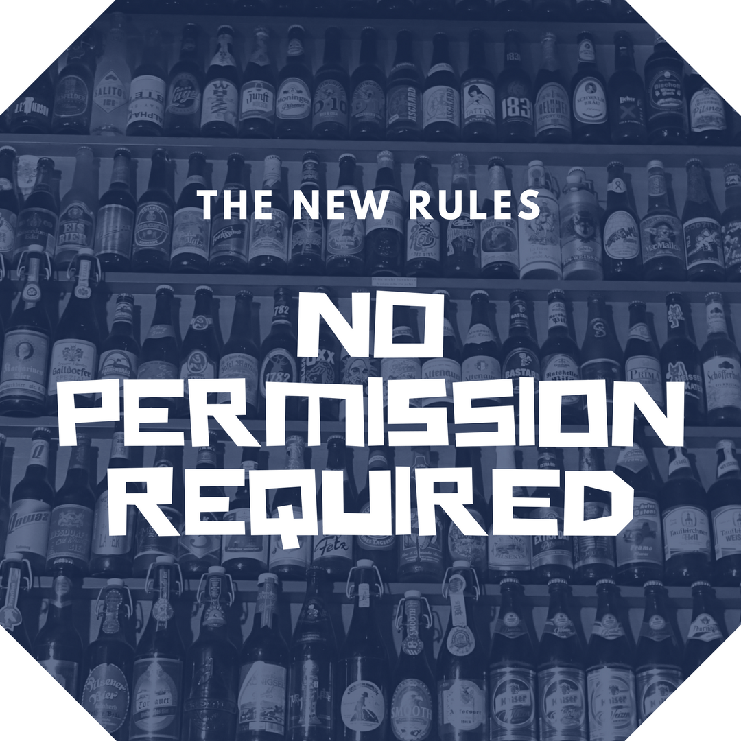 The New Rules No Permission Required