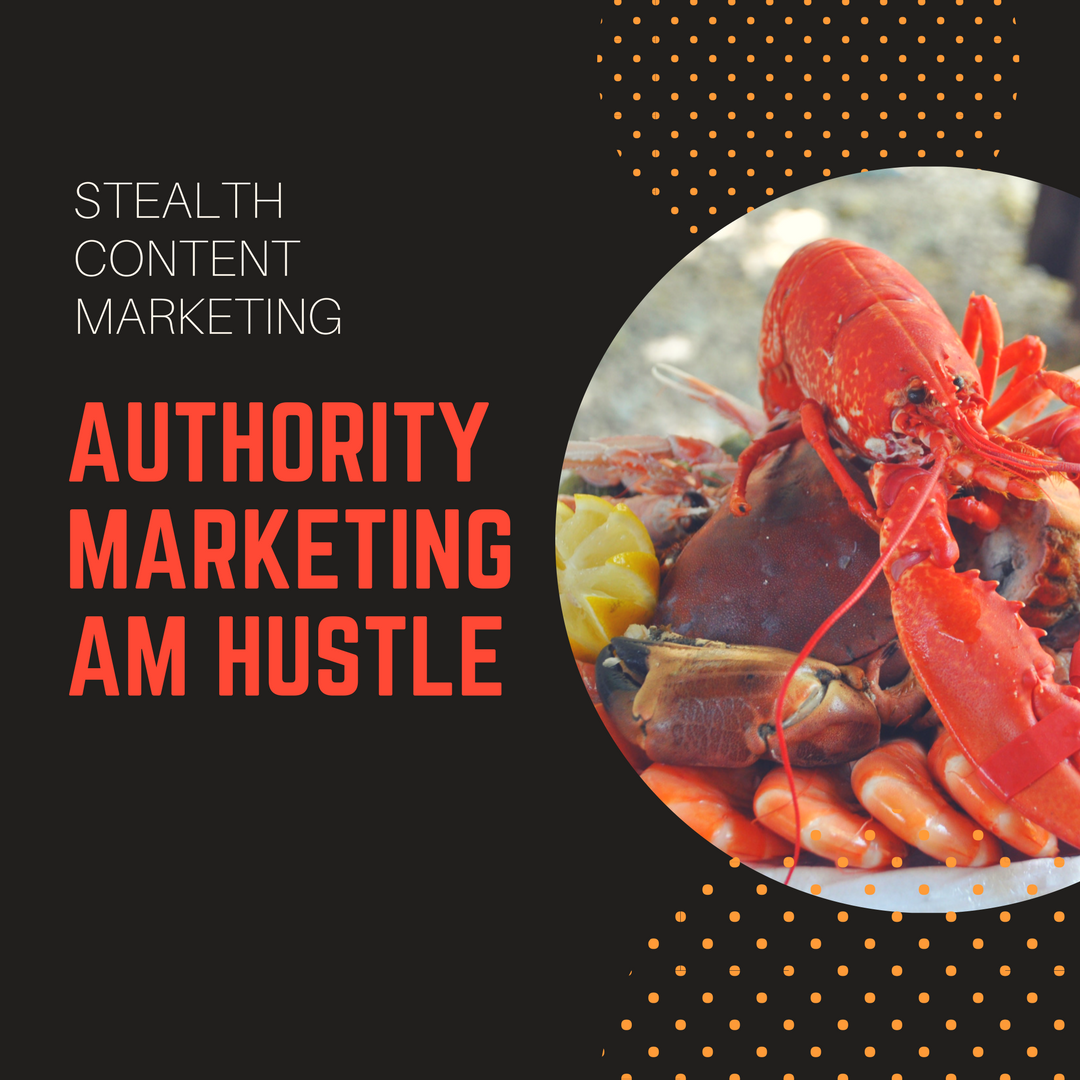 Stealth Content Marketing Authority Marketing am Hustle