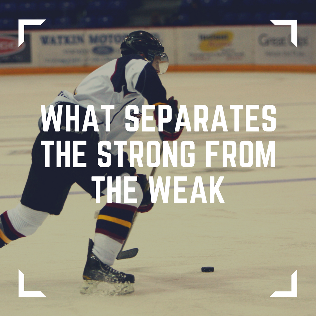 What Separates the Strong from the Weak