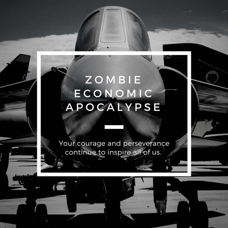 Zombie Economic Apocalypse – Will You Make the Cut or Be Shot