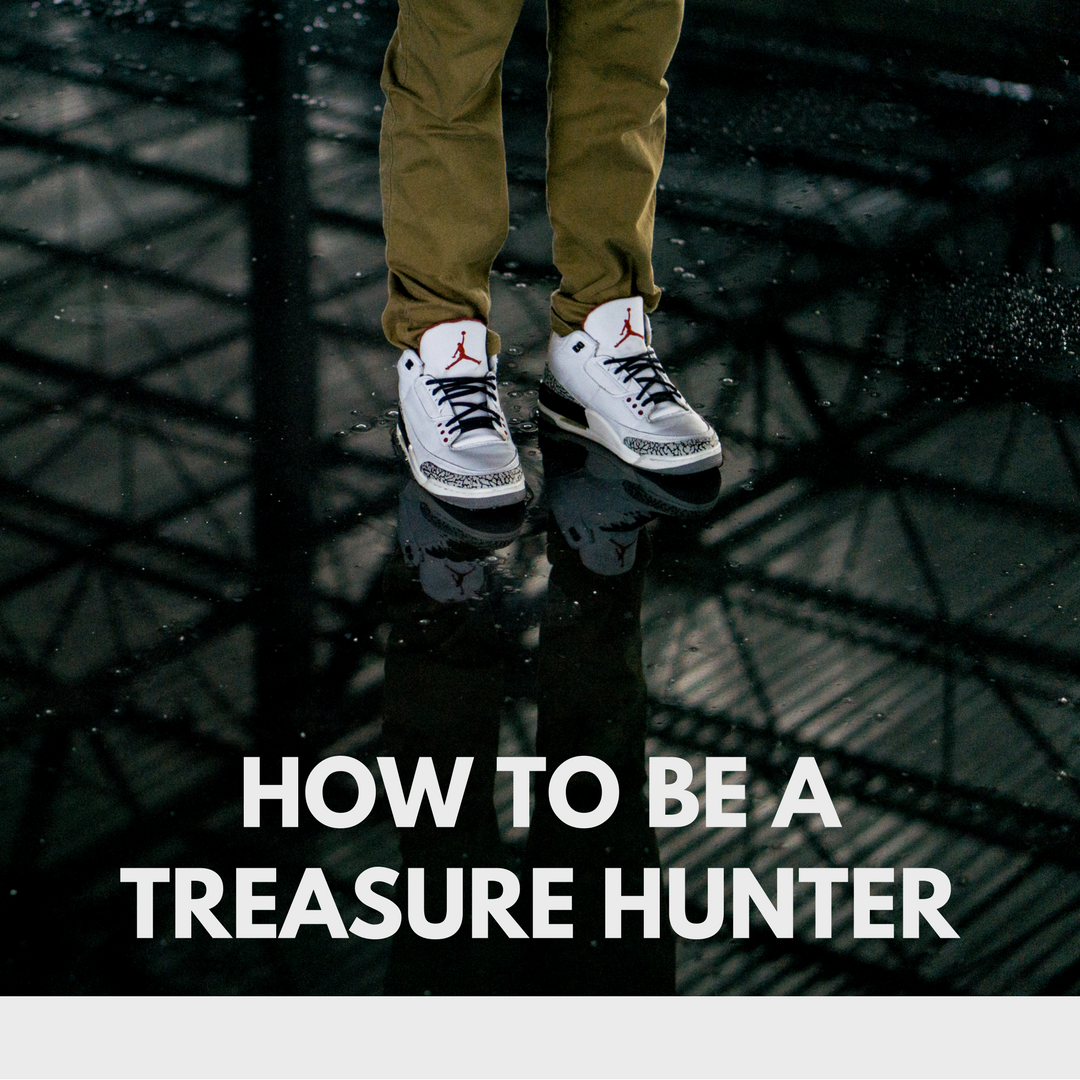 How to Be a Treasure Hunter